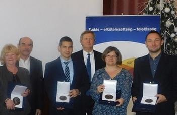 Pluhár Zsuzsa Tarján-díjban részesült